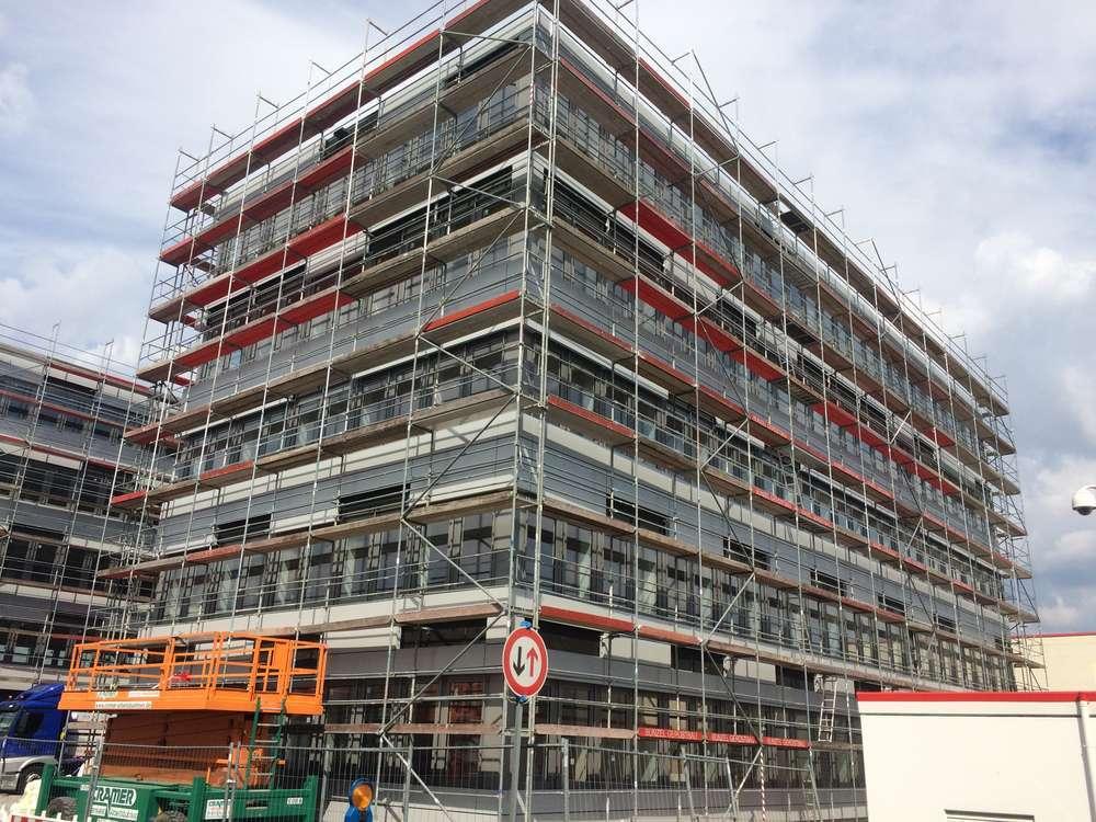 Gerüstbau Bunzel Bielefeld - Fassadengerüste