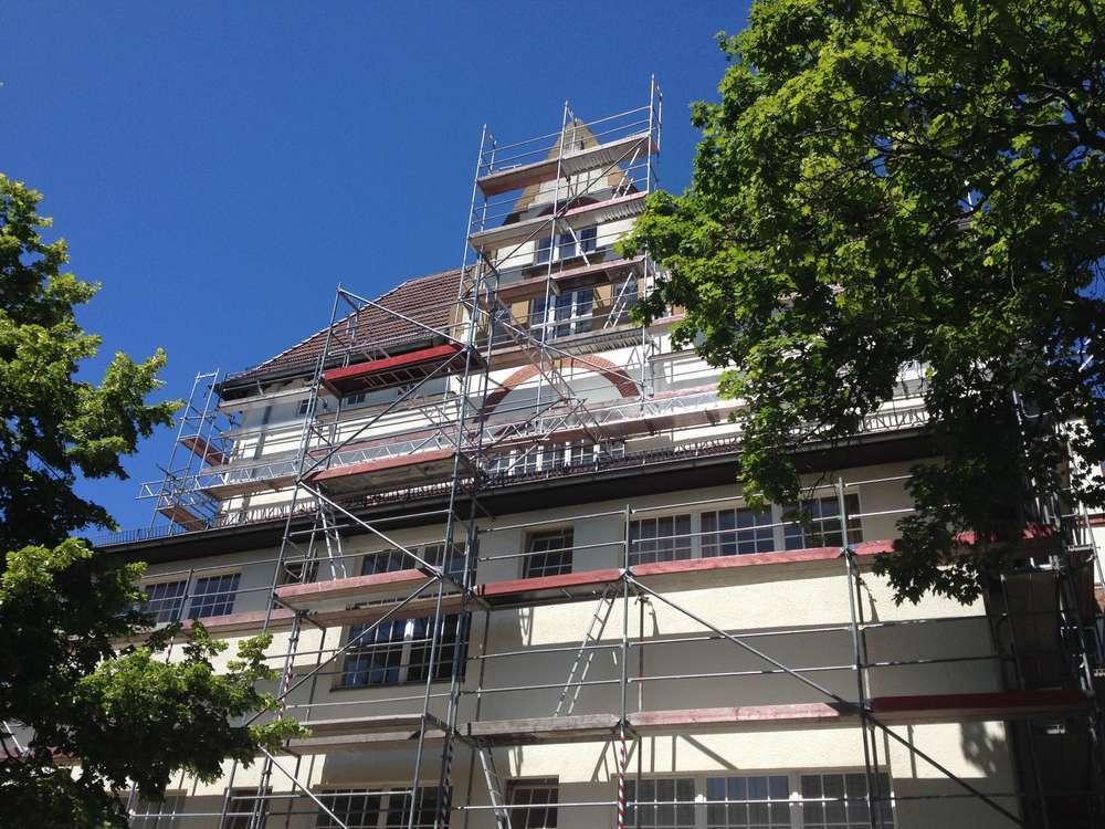 Gerüstbau Bunzel Bielefeld - Sonderkonstruktionen
