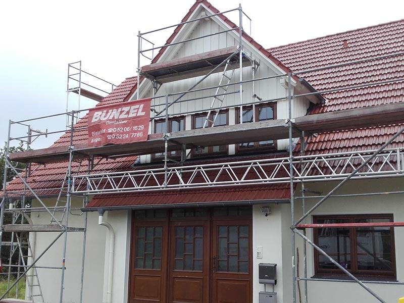 Bunzel Gerüstbau Bielefeld - Privatkunden